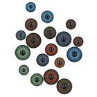 Plastic Eyes Vintage Doll 10pcs=10 Pairs Sleepy Teddy Bear Color Lens Iris Pupil