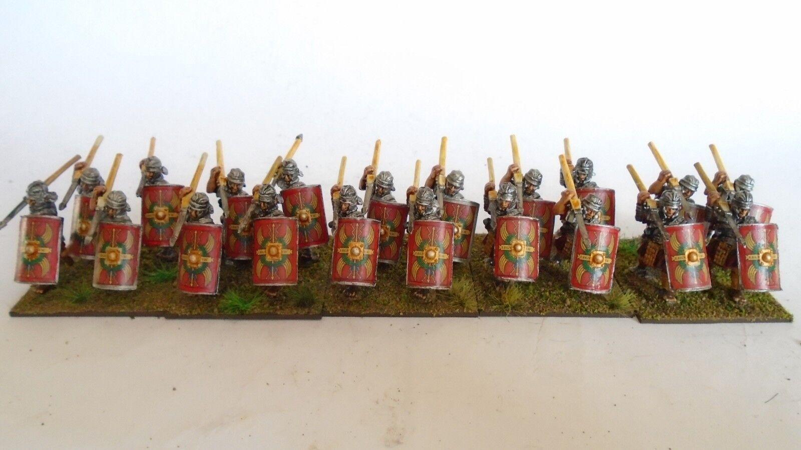 20 28mm Antiguo legionarios romanos por fundición para Swordpoint wabh kowh adlg DBMM