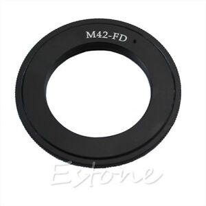 Details about M42 Screw Lens to Canon FD Mount Adapter Ring AE-1 A-1 F-1  T50 T70