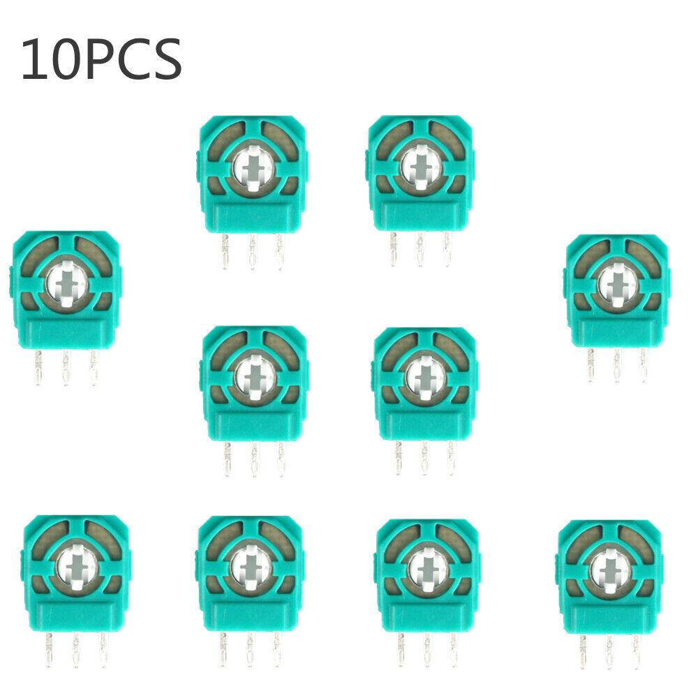 10* 3D analog joystick sensor module replacementfor PS4 controller micro switch