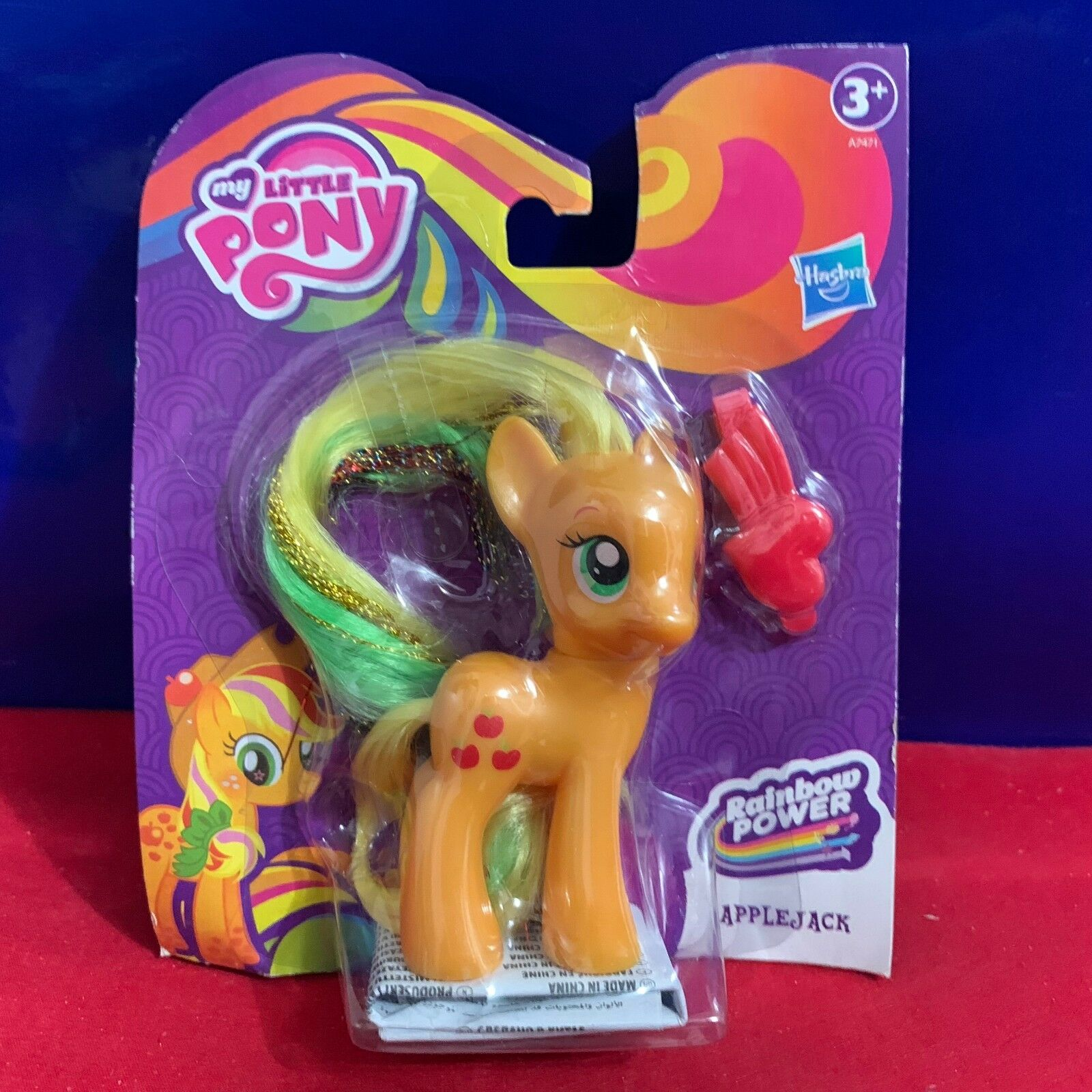 MON PETIT PONEY APPLEJACK Style Poupée-Rainbow Power-figures BT 167 Applejack