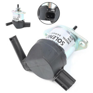 1pc Fuel Shut Off Solenoid for KUBOTA V3300 V3600 12V 1C010-60017 1C010-60015