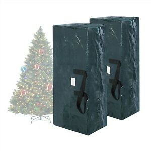 2 Pack 9 Ft. Artificial Christmas Tree Storage Bags Extra ...