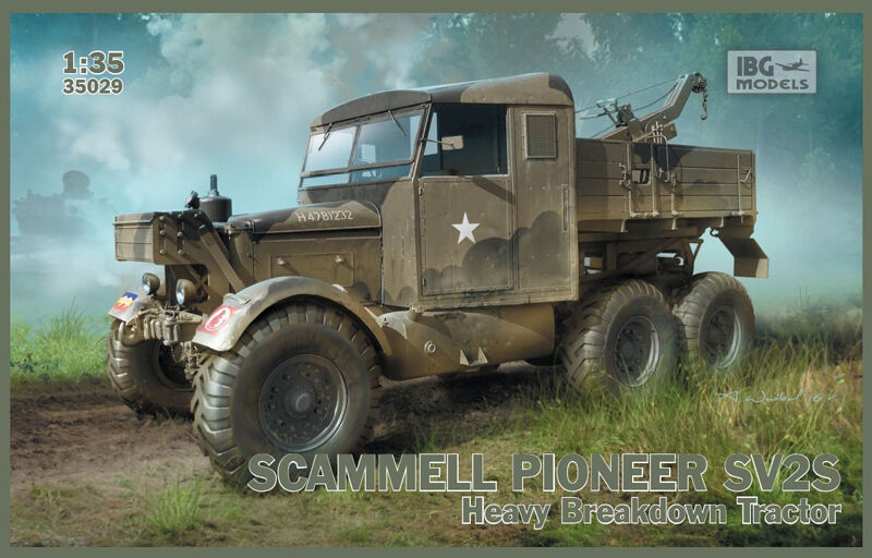IBG 35029 Scammell Pioneer SV2S Heavy Breakdown Tractor 1 35