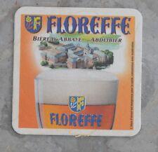 Sous-bock de bière Floreffe, bon état, légèrement rapé en bas