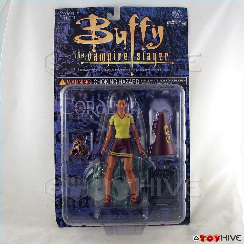 Buffy the Vampire Slayer Cheerleader Cordelia figure Moore Collectiibles - worn