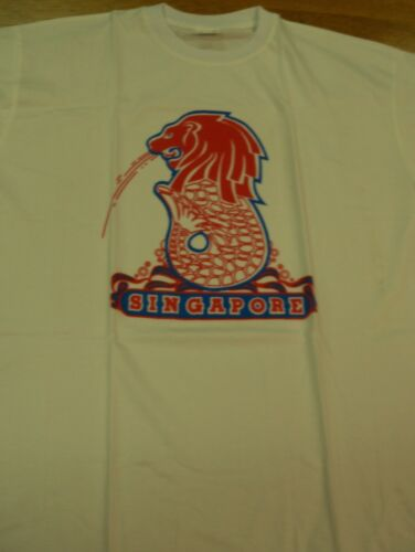 Women/'s Singapore Spitting Lion GraphicTee S//S SZ XL New In Package