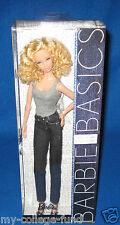 BARBIE BASICS JEANS COLLECTION 002 MODEL #03 BLONDE NEW