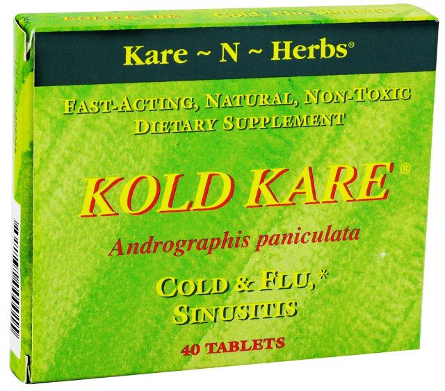 Kare n Herbs Kold Kare, Cold & Flu, Sinusitis