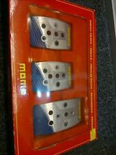Genuine MOMO Pedal Stealth MT Blue Italy Manual New