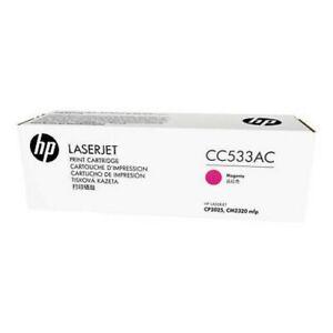 HP CC533A 304A Magenta Toner Cartridge LaserJet CM2320 Genuine New Sealed Box