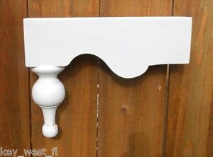 Victorian Gingerbread Corbel Porch and House Gable Brackets w/ Finial  ~ by  PLD