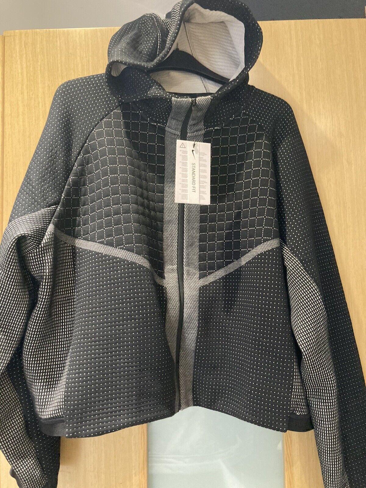 Nike Tech Pack City Ready Black Zip Up Hoody Ladies Large BNWT CI9432-011