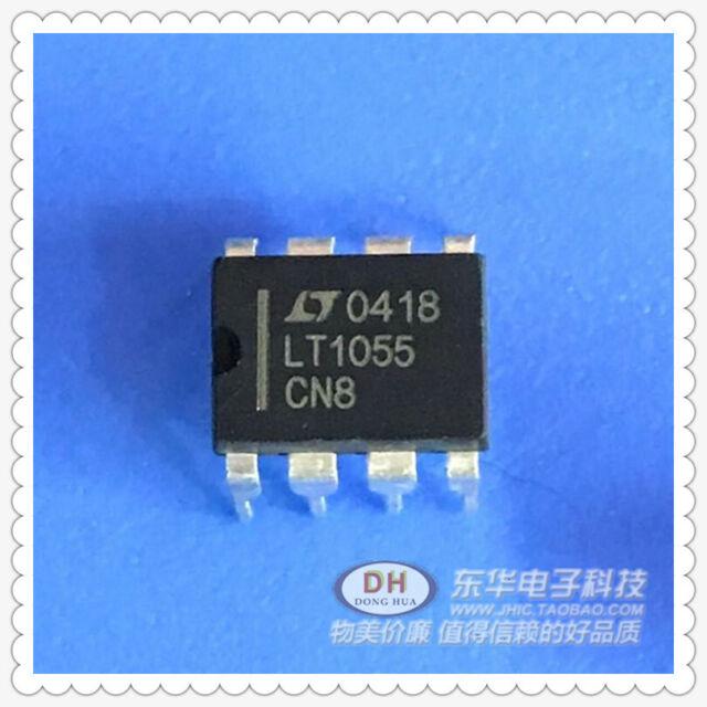 1PCS LT1055CN8 LT1055 Precision,High Speed,JFET Input Operational Amplifier DIP8