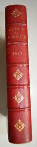 1877 VOYAGE AUTOUR DU MONDE CHARTON 2 SEM PALMYRE GRECE AFRIQUE TONG KING AFRIQU