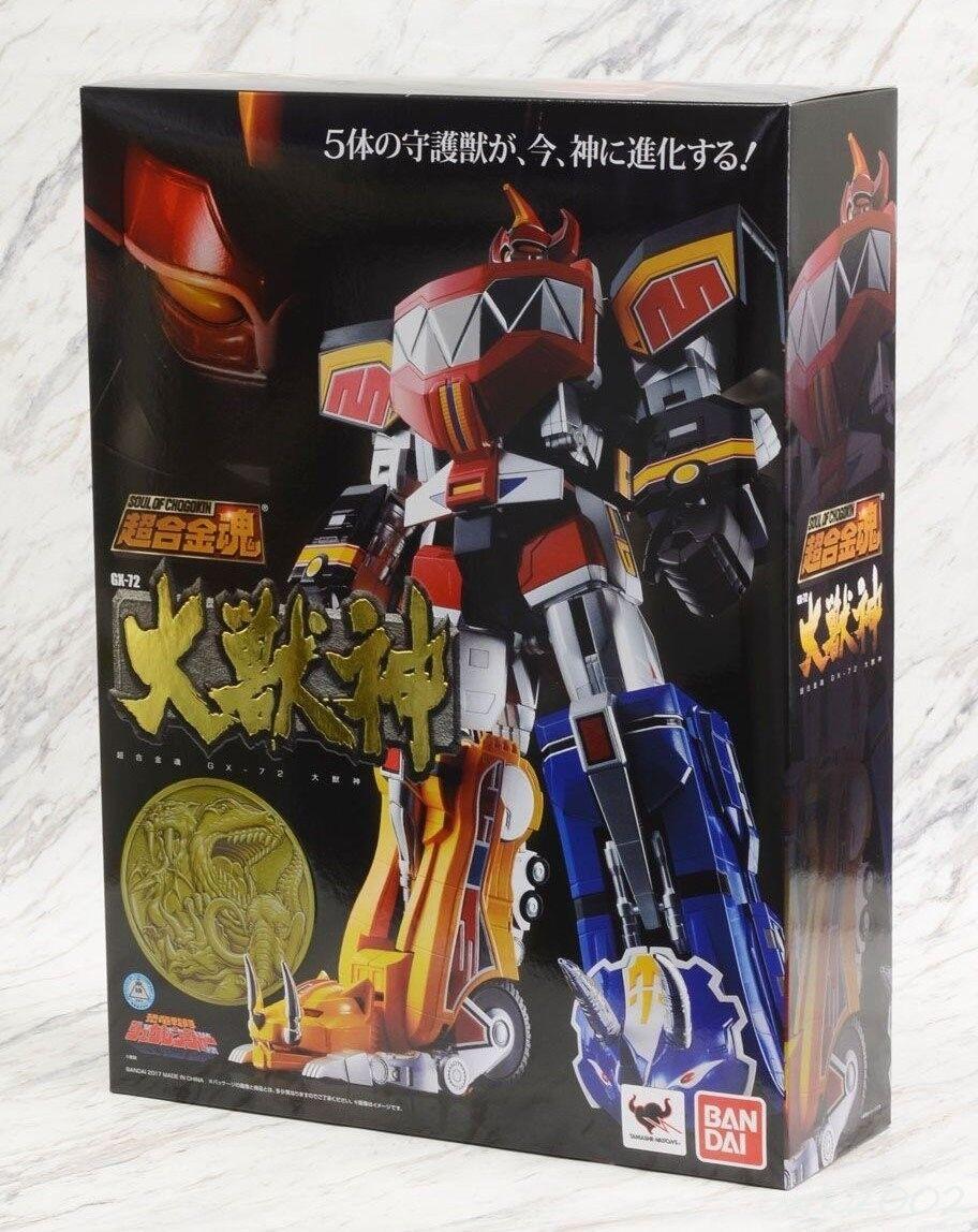 Bandai Soul Of Chogokin GX-72 DAIZYUZIN Mighty Morphin Morphin Morphin Power Rangers Megazord aae042
