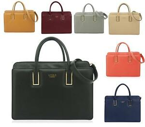 8900f403aa31 Image is loading LADIES-BRIEFCASE-LYDC-OFFICE-SATCHEL-FASHION-OFFICE-WORK-