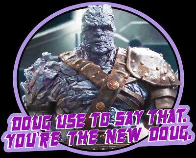 Marvel Cinematic Classic Thor Ragnarok Korg You Re The New Doug Custom Tee Ebay