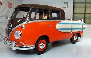 LGB-1-24-ECHELLE-VW-T1-Pare-Brise-divise-DOUBLE-CABINE-surf-surf-modele-moule