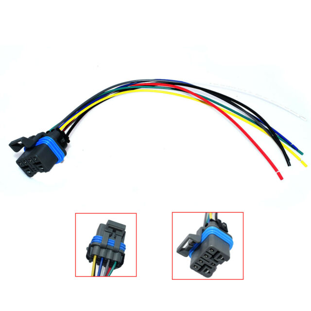 New Neutral Safety Switch Connector Pigtail 7pin For Gmc Chevy Astro 4l60e 4l80e