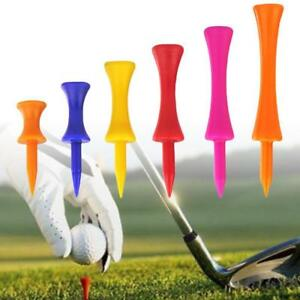 Plastic-Golf-Tees-Step-Down-Graduated-Castle-Tee-Height-Control-50-100-Pcs-US