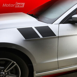Details About 2017 Ford Mustang Fender Double Side Stripes Vinyl Decals Kit Graphics