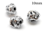 3pc-Sterling-Silver-925-bead-Hollow-bead-tube-10mm-Antique-sterling-silver thumbnail 1