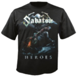 SOLDIER  T-SHIRT GR M NEW+ SABATON