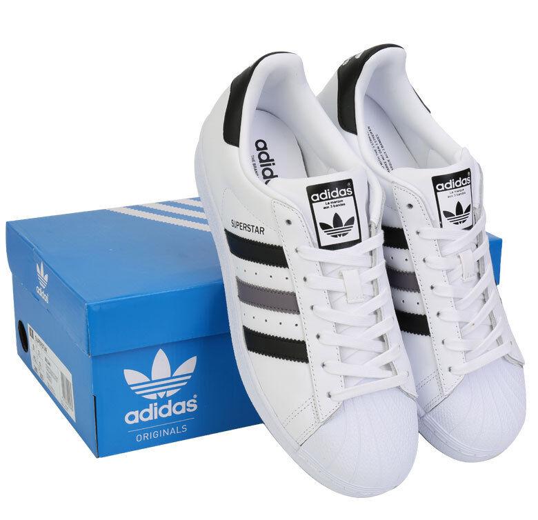 Adidas originals superstar bb2244 turnschuhe schuhe skate board weiß - schwarz