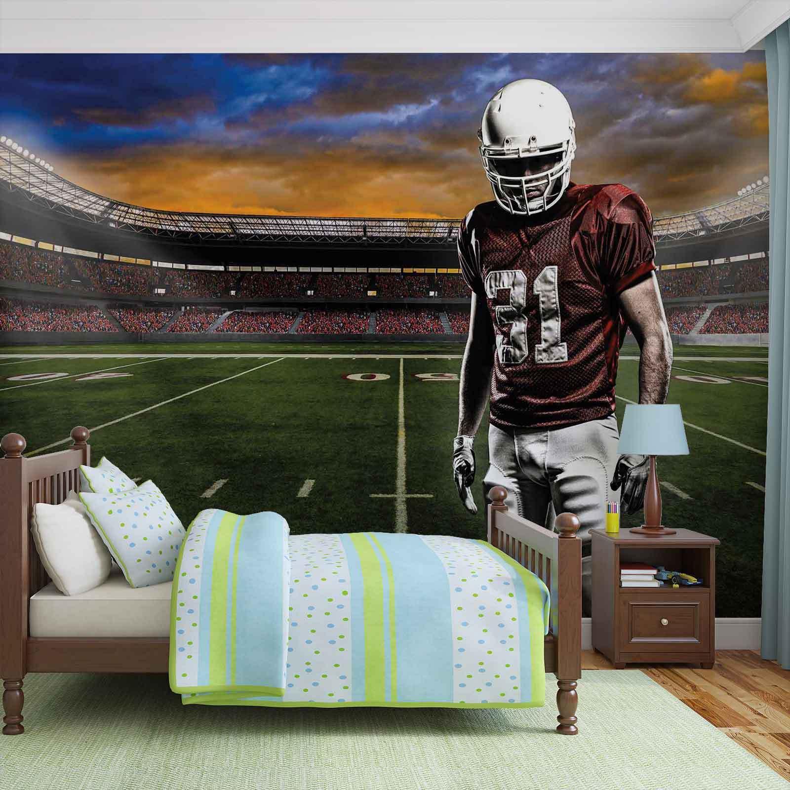 WALL MURAL PHOTO WALLPAPER XXL American Football Stadium (1109WS)