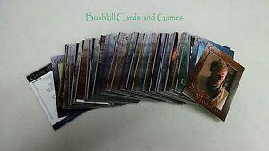 GAME OF THRONES SAISON 6 COMPLETE 100 Card Base Set-Série six