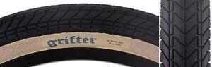 Maxxis-Grifter-BMX-Folding-Tire-20x2-3-Black-Gumwall-Dual-Compound-SilkWorm