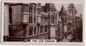 Royal-Law-Courts-of-Justice-London-England-1920s-Trade-Ad-Card