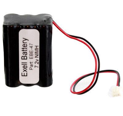Fijn Emergency Lighting Battery Replaces Sanyo 34051 6hraaau 6hraaau34051 Usa Ship Redelijke Prijs