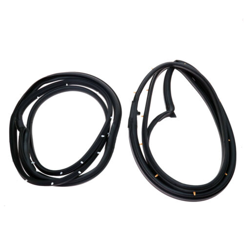 FOR 87-92 TOYOTA COROLLA E90 SERIES AE92 94 91 AE97 FRONT DOOR WEATHERSTRIPS L//R