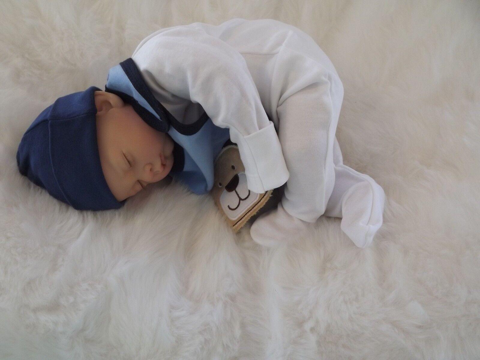 DOMINIC BABY BOY BOS LifeGröße Realistic Reborn Doll Girls Mum Birthday Xmas