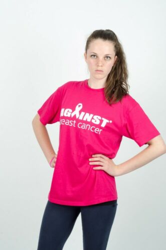 Against Breast Cancer Pink T-shirt