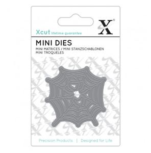 1pc HALLOWEEN Xcut - Mini SPIDER/'S WEB Metal Die Set Docrafts
