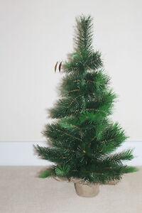 Decoration-de-Noel-artificiel-Vancouver-Noel-Arbre-en-sac-de-jute-90cm-3ft