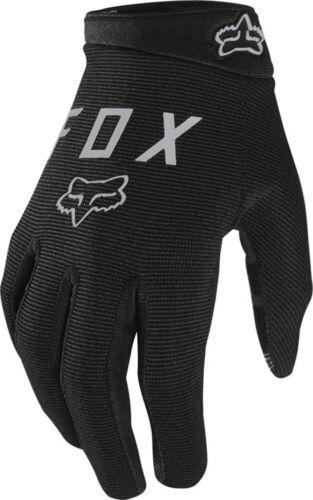 Black Full Finger Women/'s Small Fox Racing Ranger Gloves