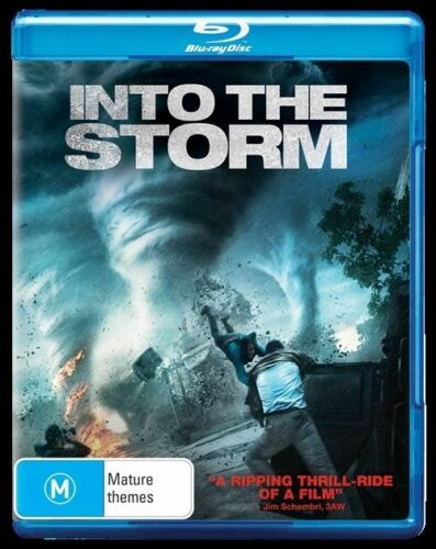 1 of 1 - Into The Storm (Blu-ray, 2015)  New, ExRetail Stock, Genuine & unSealed  D132
