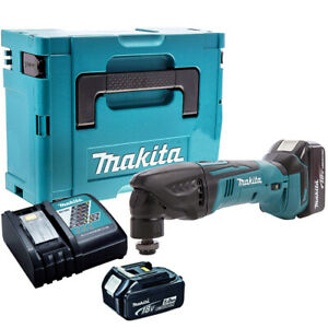 Makita DTM50Z 18V Cordless Multi Tool with 2 x 5.0Ah Batteries & Charger in Case