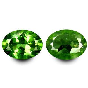 1.49 Ct (2 Pièces) Magnifique Assorti Paire Forme Ovale (7 X 5 mm) Apatite u0xejc84-09120600-106533917