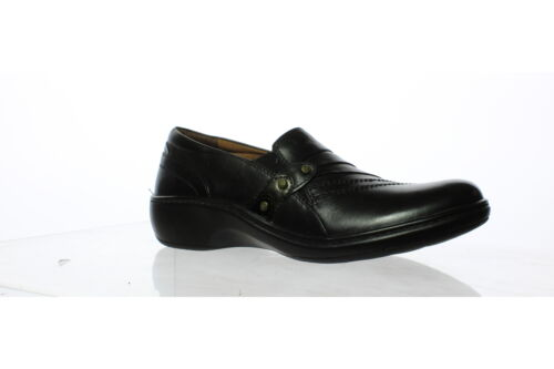 Aravon Womens Danielle Black Casual Flats Size 7.5 161344 Narrow