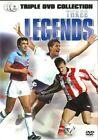 Three Legends - Simply The Best,  Soccer Stars (DVD, 2014, 3-Disc Set)