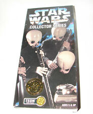 """Star Wars 12"""" collectors series Cantina Band TEDN ANH EIV MISB  613"""