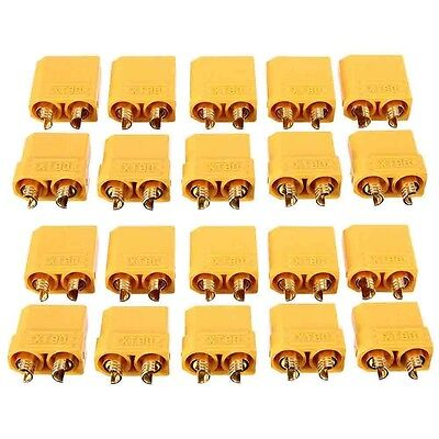 10 Pairs XT90 Female Male Banana Bullet Connector Plug For RC LiPo Battery NEW I