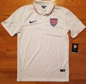 cheap for discount 9e838 3759c Details about *WOW* NIKE USA National Soccer Replica Jersey Men M world cup  olympics pulisic