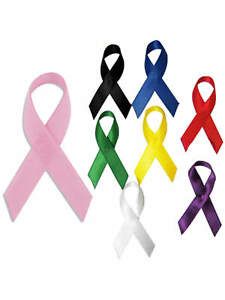 Details about PinMart's Bulk Cloth Awareness Ribbons Select Your Color- 25  Pack w/ Safety Pins