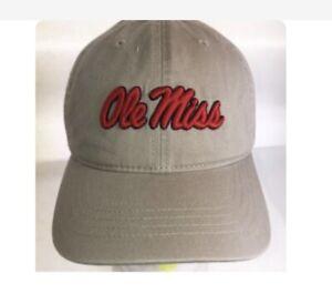 NCAA Ole Miss Rebels Cap- Mississippi Khaki Marlee Logo Hat